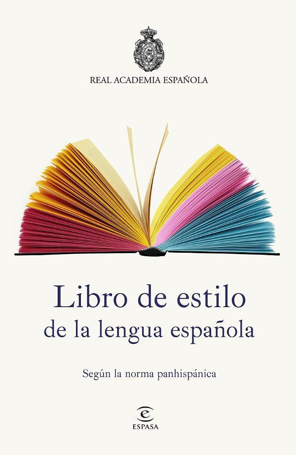 Portada de Libro de estilo de la lengua española