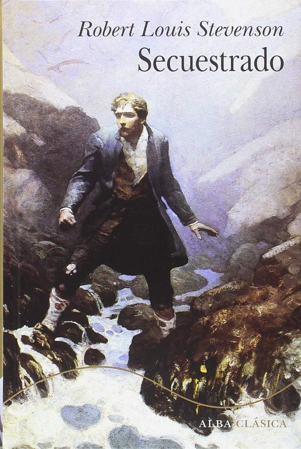 Portada de Secuestrado de Robert Louis Stevenson