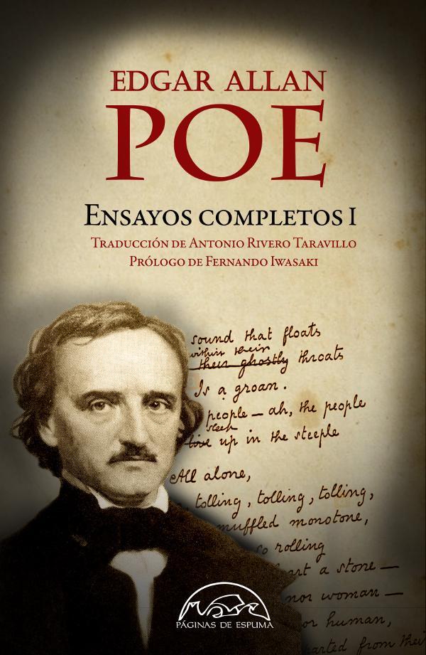 Portada de Edgar Allan Poe ensayos completos