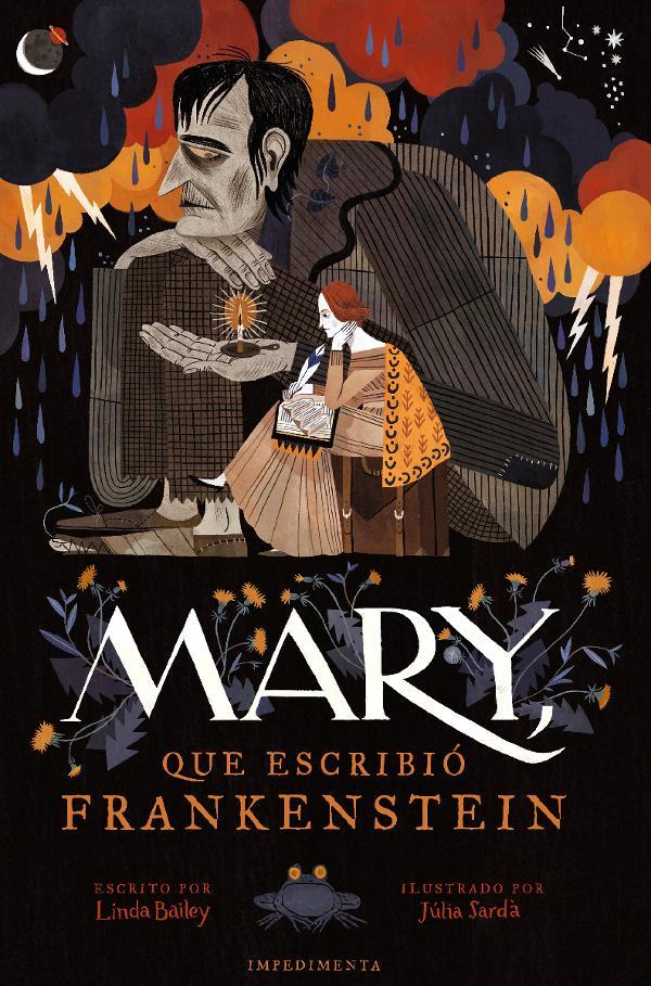 Portada de Mary que escribió Frankenstein