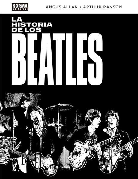 Portada de La historia de los Beatles
