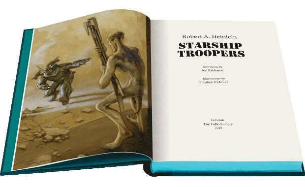 Ilustración Starship Troopers