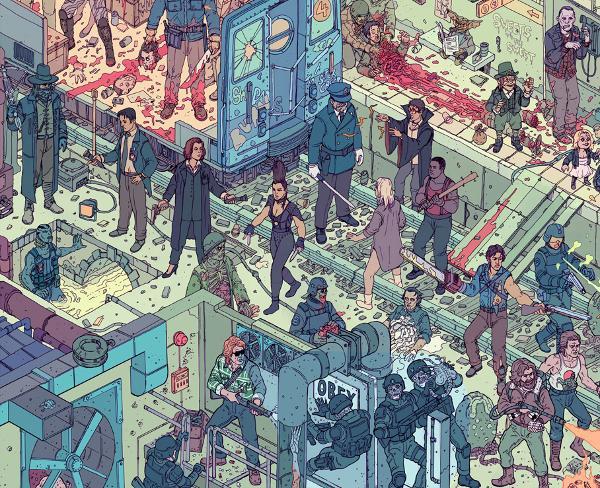 Ilustración The Raid 2