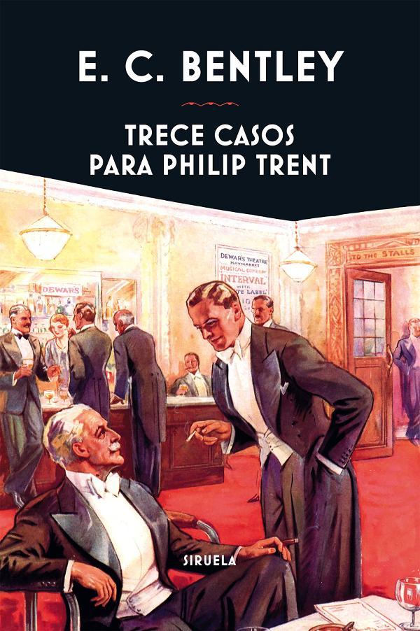 Portada de Trece casos para Philip Trent