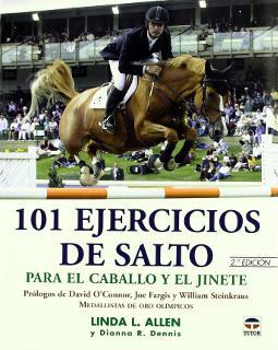 Portada de 101 ejercicios de salto para el caballo y el jinete