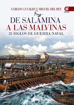 Portada de De Salamina a las Malvinas