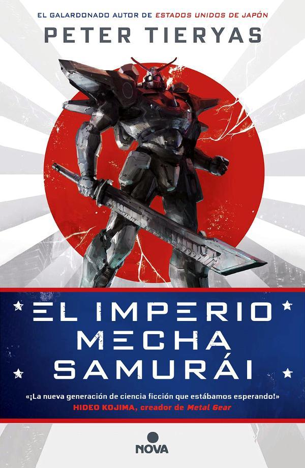 Portada de El imperio Mecha Samurái