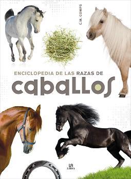 Portada de Enciclopedia de las razas de caballos
