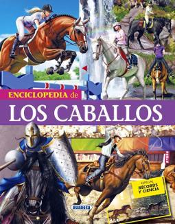 Portada de Enciclopedia de los caballos