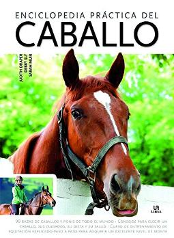 Portada de Enciclopedia práctica del caballo