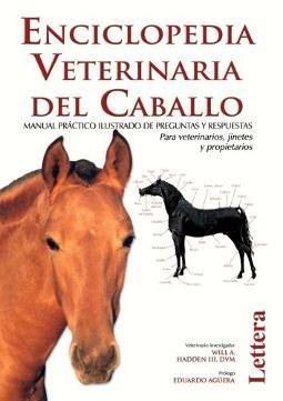 Portada de Enciclopedia veterinaria del caballo