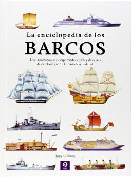 Portada de La enciclopedia de los barcos