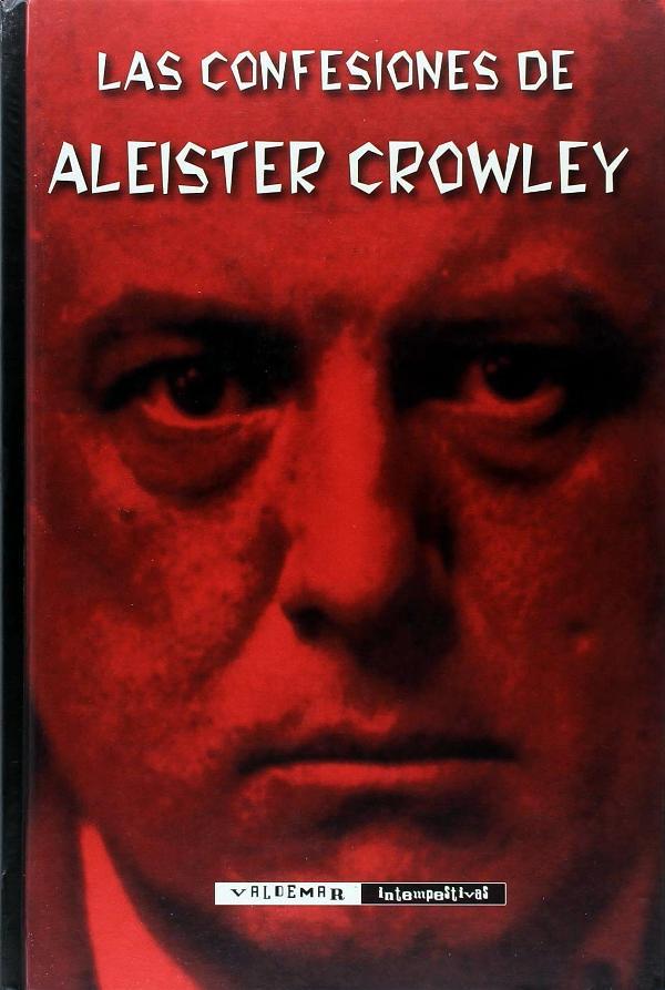 Portada de Las confesiones de Aleister Crowley