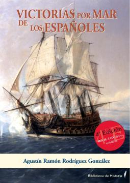Portada de Victorias por mar de los españoles