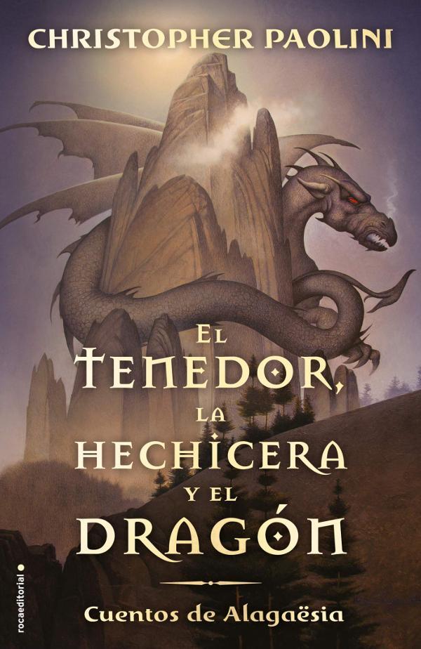 Portada de El tenedor, la hechicera y el dragón