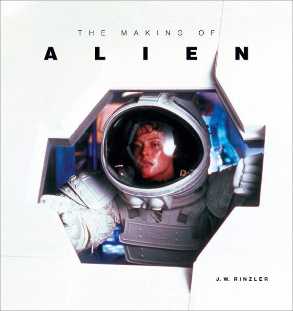 Portada de The making of Alien