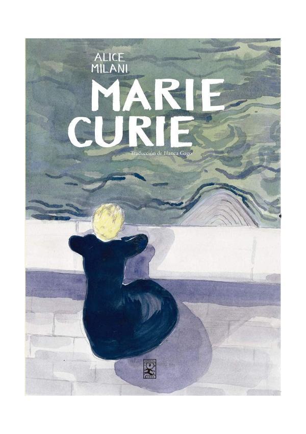 Portada de Marie Curie de Alice Milani