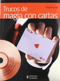 Portada de Trucos de magia con cartas