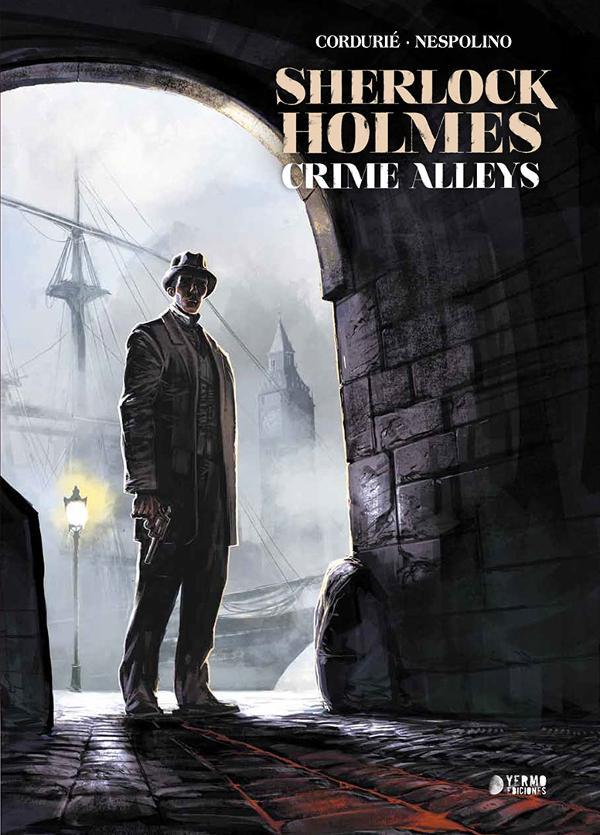 Portada de Sherlock Holmes Crime Alleys