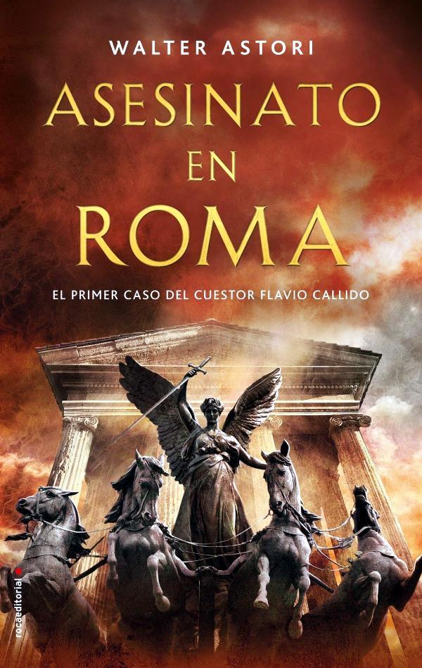 Portada de Asesinato en Roma