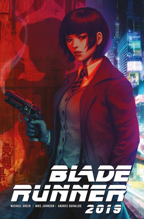 Portada de Blade Runner 2019 Comic