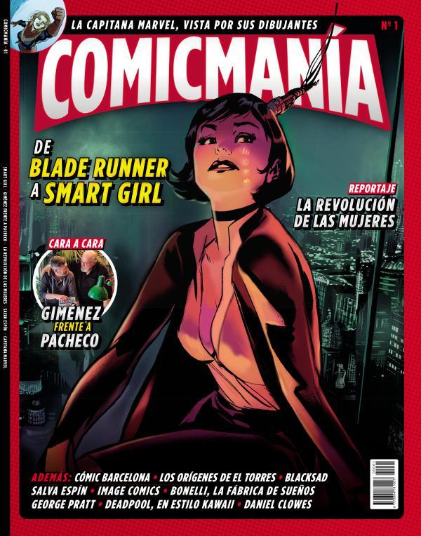Portada de la Revista Comicmanía