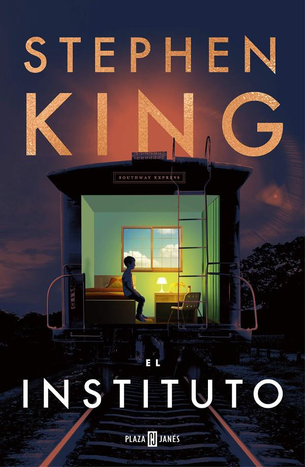 Portada de El Instituto de Stephen King