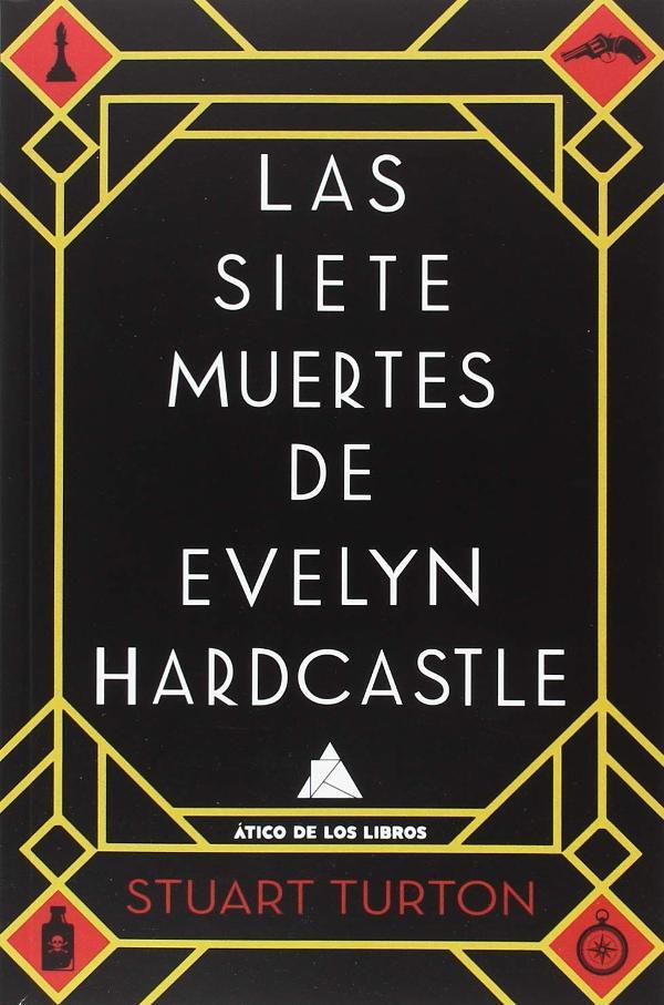 Portada de Las siete muertes de Evelyn Hardcastle