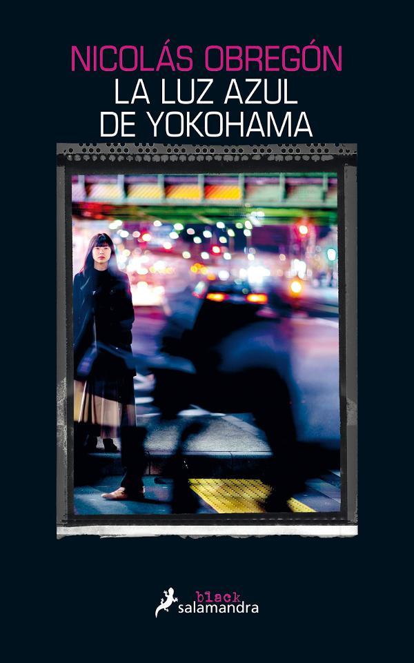 Portada de La luz azul de Yokohama