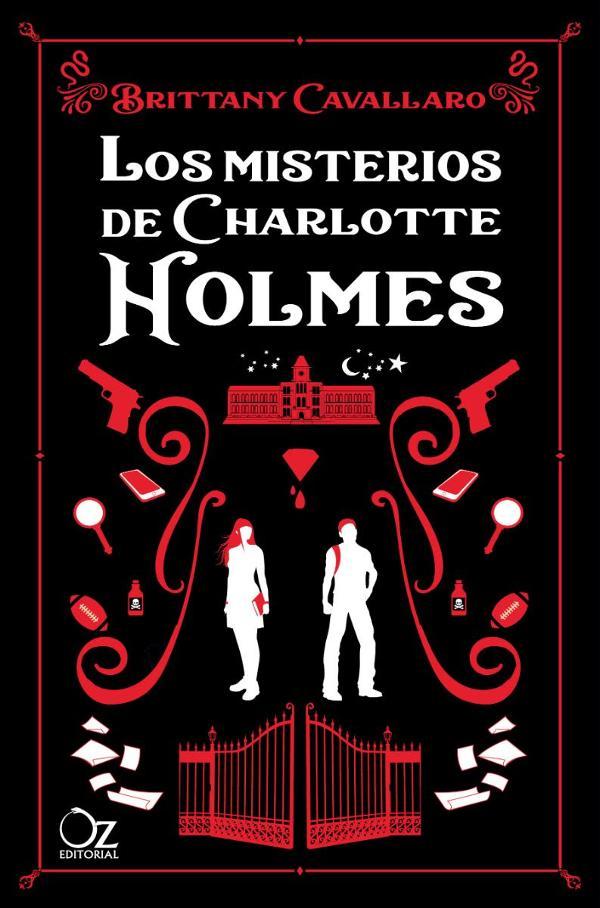 Portada de Los misterios de Charlotte Holmes