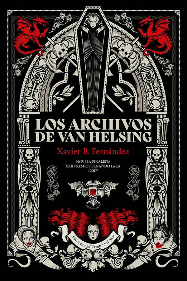 Portada de Los archivos de Van Helsing
