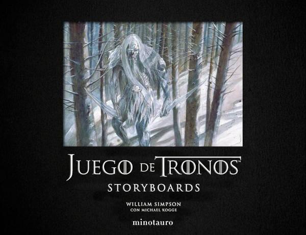Portada de Storyboards de Juego de Tronos