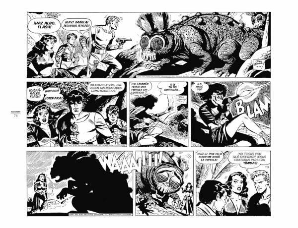 Cómic Flash Gordon La Prisión del Espacio