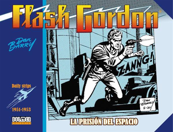 Portada de Flash Gordon La Prisión del Espacio