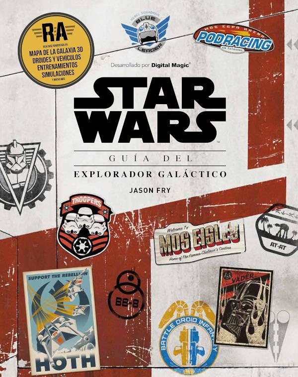 Portada de Star Wars Guía del explorador galáctico