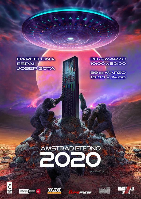 Cartel Feria Amstrad Eterno 2020