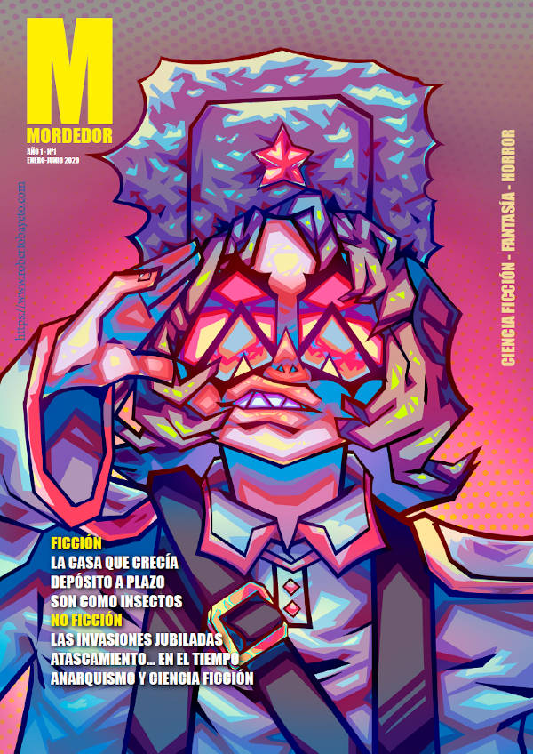 Portada de la Revista Mordedor 01