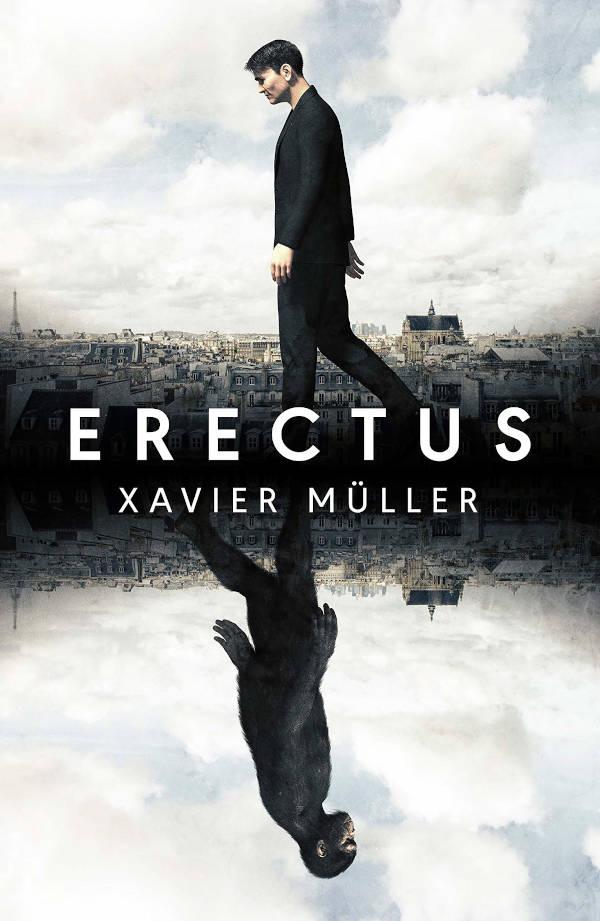 Portada de Erectus de Xavier Müller
