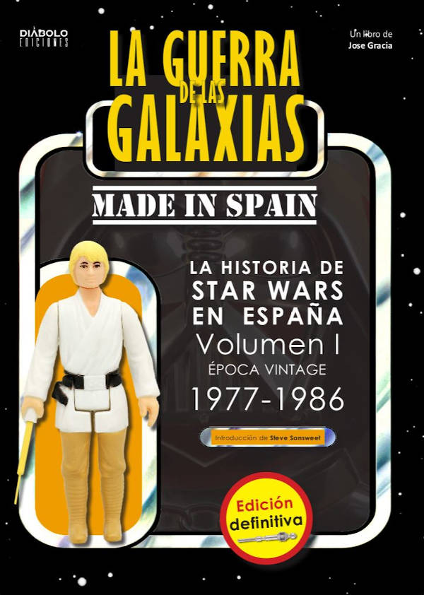 Portada de La Guerra de las Galaxias made in Spain