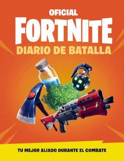 Portada de Diario de batalla Oficial Fortnite