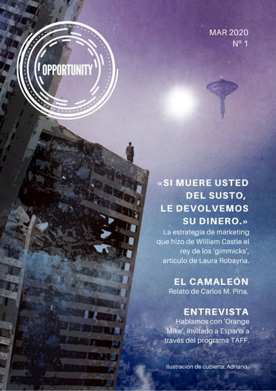 Portada de Revista Opportunity 01