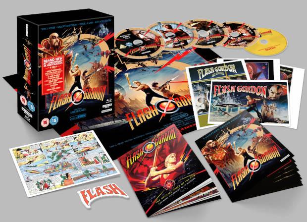 Fotografía Flash Gordon edición coleccionista