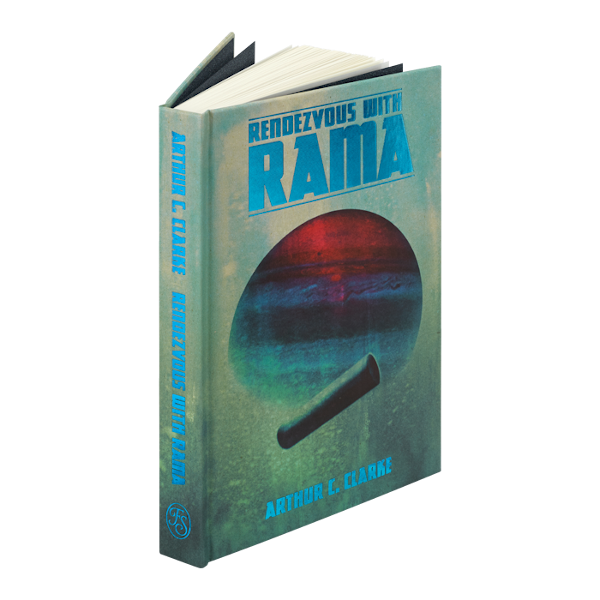 Portada de Rendezvous with Rama en The Folio Society