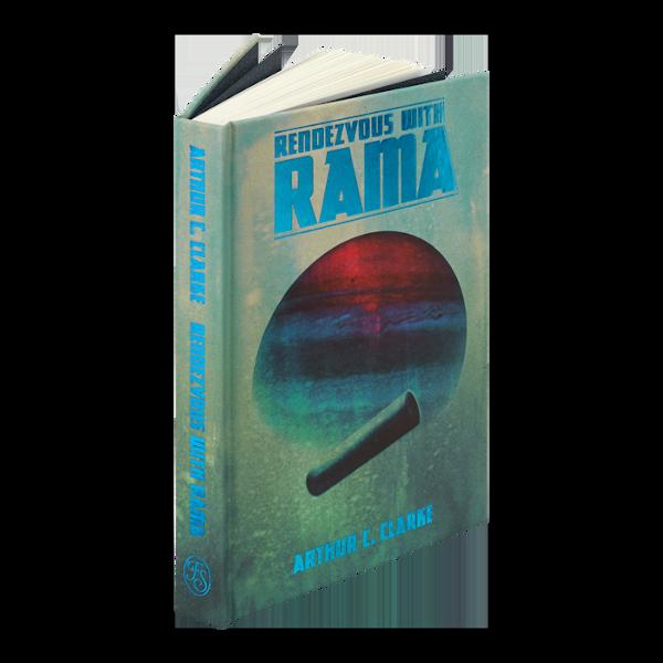 Portada de Rendezvous with Rama en The Folio Society