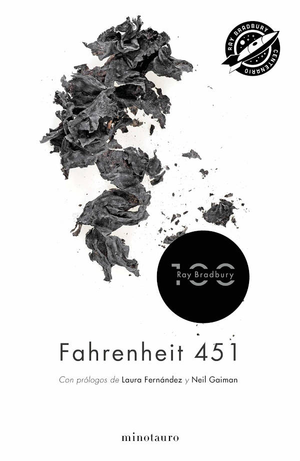 Portada de Fahrenheit 451 edición 100 aniversario
