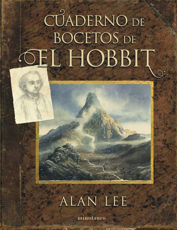 Portada de Cuaderno de Bocetos de El Hobbit