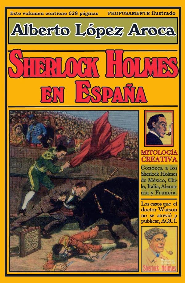 Portada de Sherlock Holmes en España