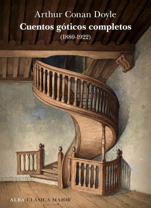 Portada de Cuentos góticos completos Arthur Conan Doyle