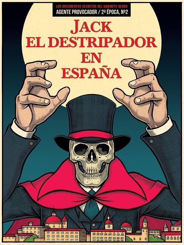 Portada de Jack el Destripador en España