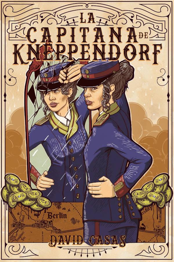 Portada de La capitana de Kneppendorf